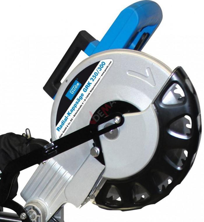 Scie radiale à onglet sur pied inclinable 45° 1900 W garantie 2 ans