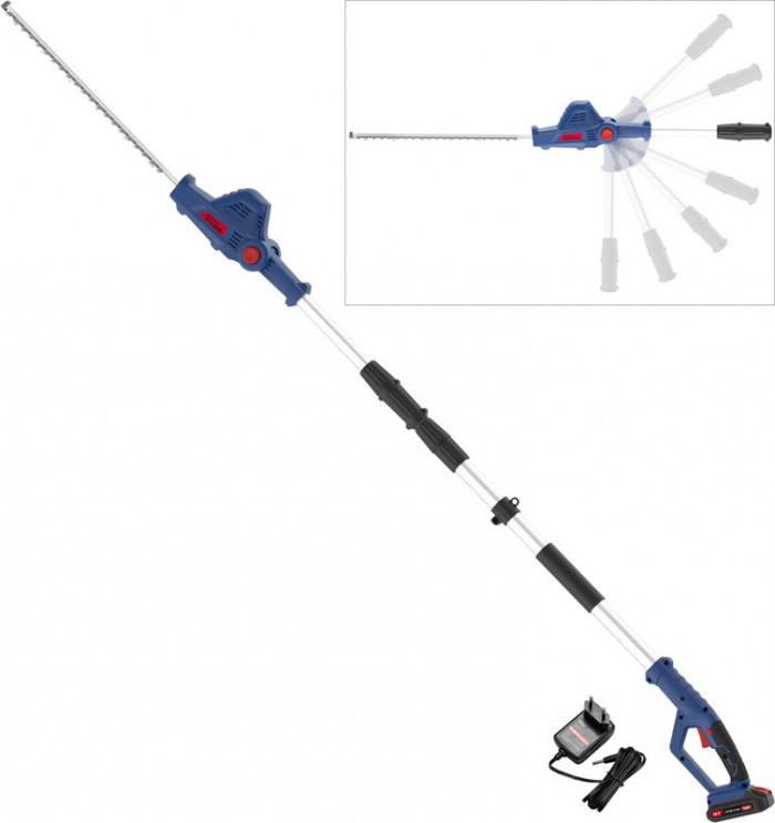 Taille-haies télescopique sans fil HST 18-201-05 avec accu + chargeur