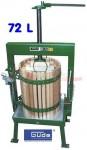 Pressoir à fruits - presse à fruits - 72 litres