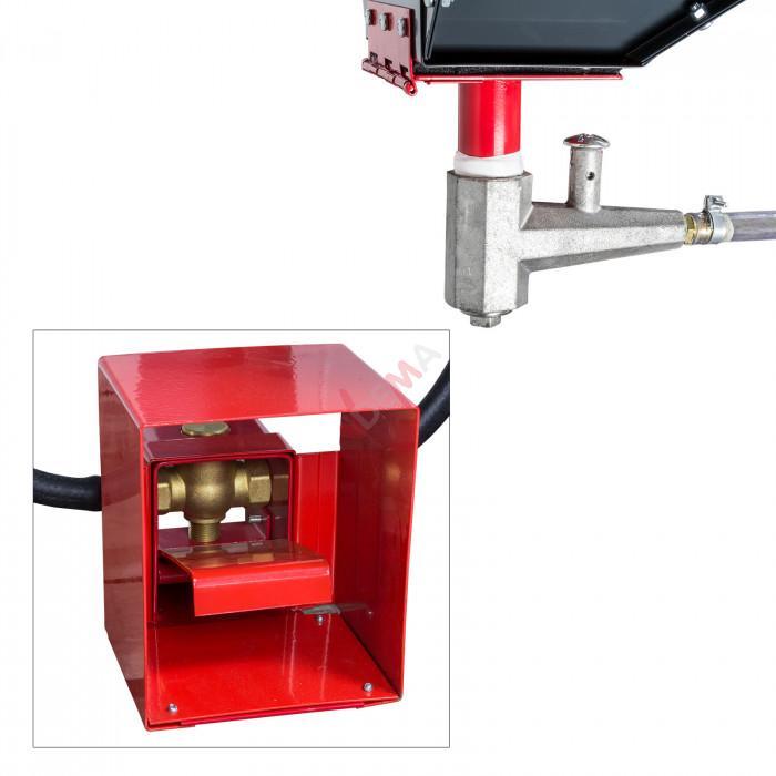 Cabine de sablage / sableuse XXL 500/690 L  Fabriquée en EUROPE