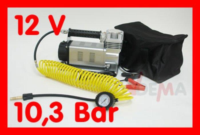 Compresseur 12V - monocylindre 160L/min