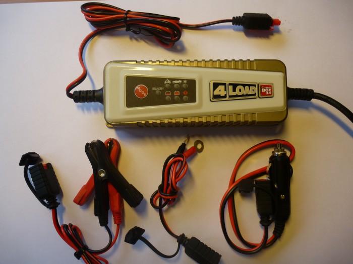 Chargeur de batterie automatique 12 V - Charge Box 3.6