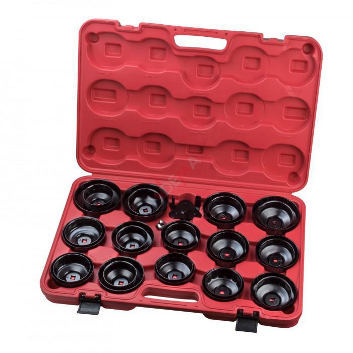 Cloches filtres à huile professionnel - 30 pièces
