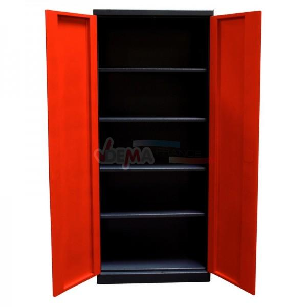 exceptional armoire metallique pour garage 11 lu0027armoire est une solution de rangement. Black Bedroom Furniture Sets. Home Design Ideas