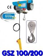 Palan électrique treuil 100/200 kg câble Ø 3,5 mm