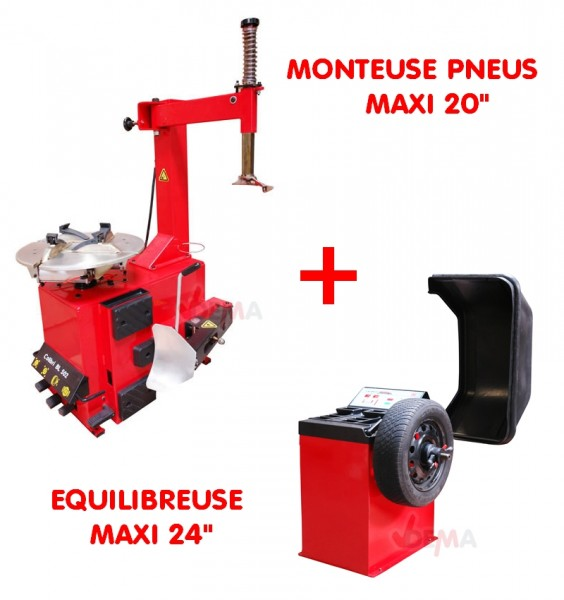 combi quilibreuse monteuse 220 v levage traction. Black Bedroom Furniture Sets. Home Design Ideas