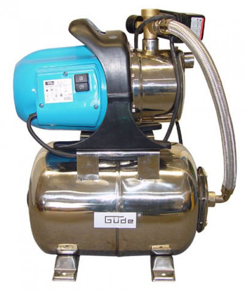 GÜDE - Groupe surpresseur - Pompe domestique HWW 1200 II