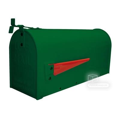 Boite aux lettres américaine - acier vert