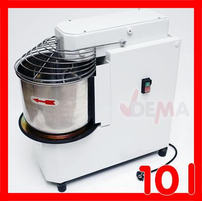 Pétrin professionnel - Bol inox - 10 litres