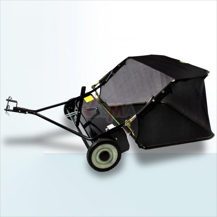 Remorque balai 950 mm pour quad ou petit tracteur Balayeuse feuilles