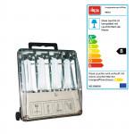 Spot basse consommation - lampe de chantier - 4 x 9 W - 36 W