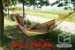 Hamac RELAX150 kg couleur été jardin extérieur 1900x1100 mm