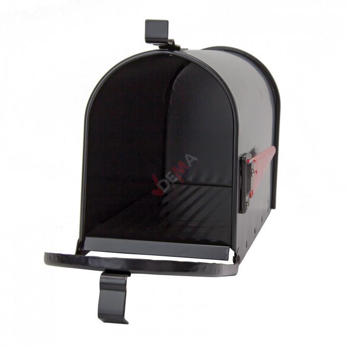 Boîte aux lettres américaine - Alu noir