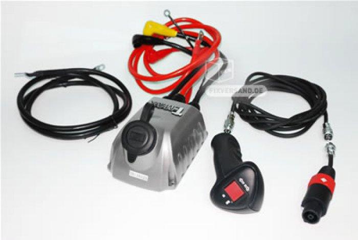 Kit radio-commande pour treuil 12/24 V
