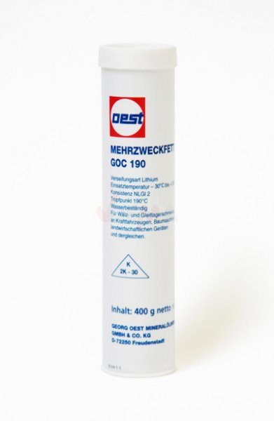 Cartouche de graisse OEST 400 g - multipose - qualité allemande