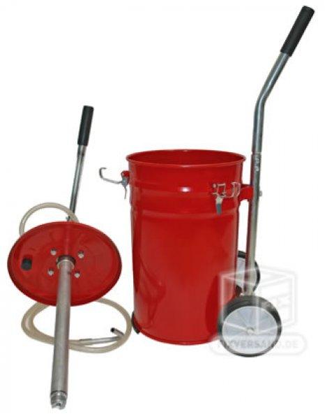 Pompe de remplissage huile à main