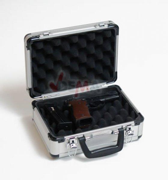 Valise alu - transport arme de poing
