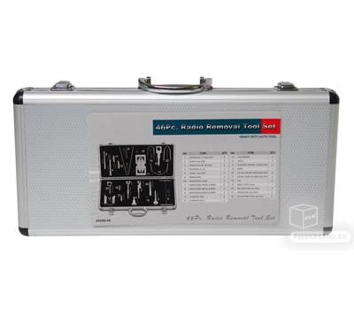 Coffret dépose radio lecteur CD système de navigation - 46 pièces