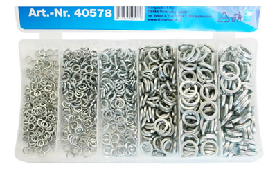 Rondelles frein - 800 pièces