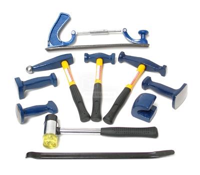 Ensemble outils de carrossier - coffret 10 pièces