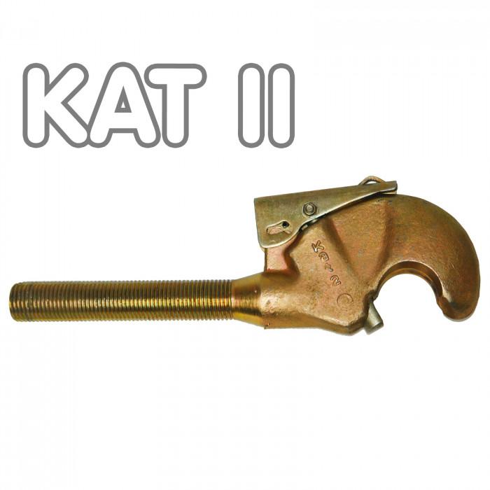 Crochet supérieur pour tirant agricole -bras + Kat II
