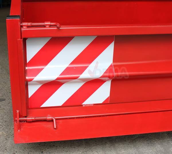 Benne / bennette arrière pour tracteur - Type1500S K1 - charge 500 kg