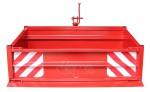 Benne / bennette arrière pour tracteur - Type1500S K1 - charge 1000 kg