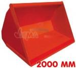 Godet frontal L1- 2000 mm - 0,75 m3