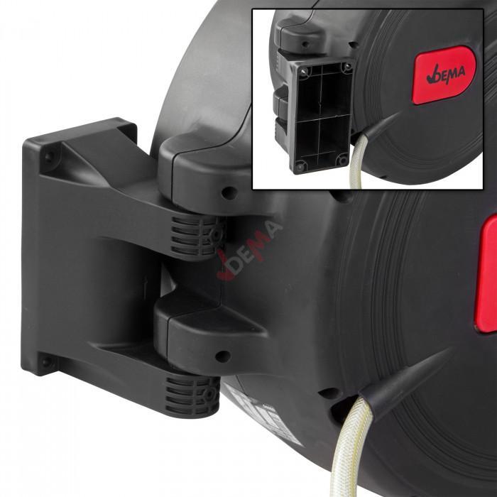 Enrouleur tuyau d'arrosage 30 M rotation 180° pression maxi 8 bar