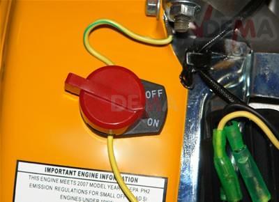 Moteur essence pour vibreur à béton - 5,5 HP - OHV