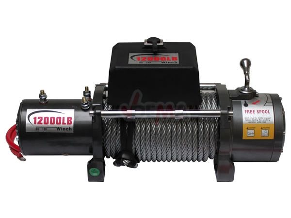 Treuil électrique 12 V - 5,4 T