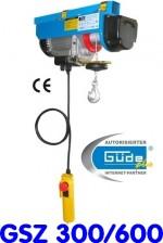 Palan électrique GSZ 300/600