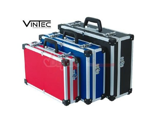 Ensemble 3 valises d'intervention vides  ALU