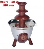 Fontaine à chocolat simple - 230 V - 60 W - 310 mm