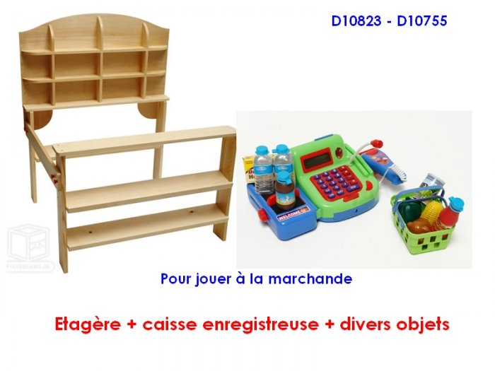 etag re marchande et caisse enregistreuse accessoires premier ge. Black Bedroom Furniture Sets. Home Design Ideas