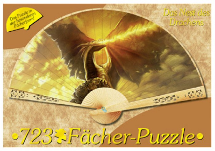 "Puzzle 723 pièces ""Dragon"" carton recyclé - Made in Germany"