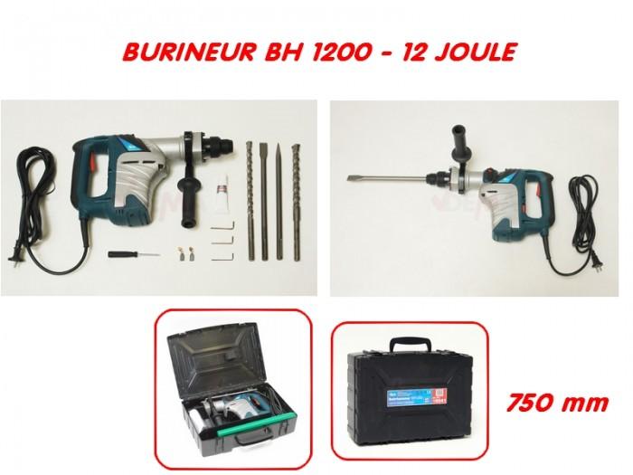 Marteau burineur BH 1200 - 12 Joule