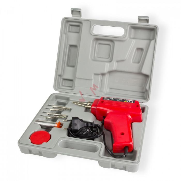 Pistolet à souder électrique - 100 W - avec accessoires