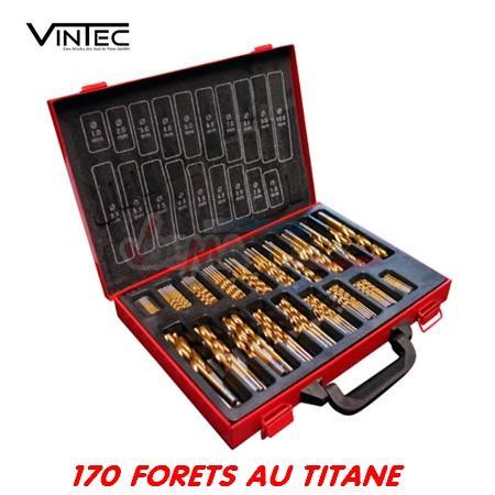 VINTEC - Coffret 170 forets au TITANE - HSS
