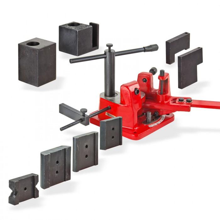Presse d'angle serrage 18 mm maxi U 100 pour acier plat atelier