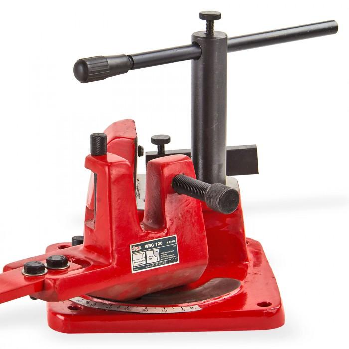 Presse d'angle / Cintreuse d'angle serrage 18 mm maxi U 100 pour acier