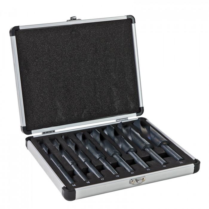 Forets - Traitement au NITRURE HSS de 14 à 25 mm en coffret